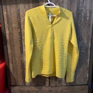 Lululemon knit half zip sweater